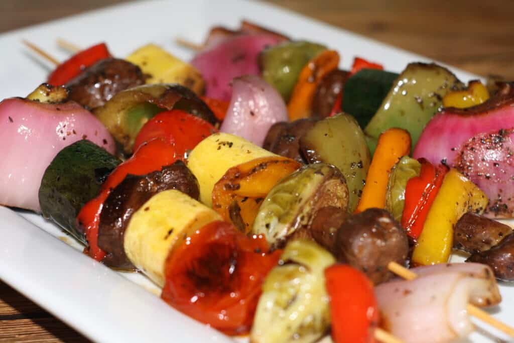 Marinated Veggie Kabobs