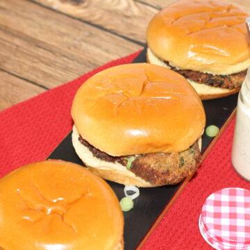 Pork Schnitzel Sandwiches with Dill Aioli