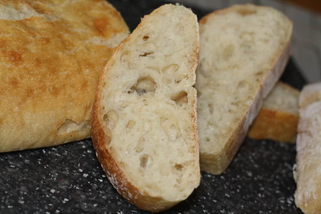 Fresh Bread sliced