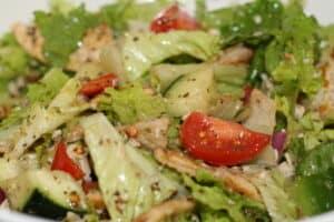 Panzanella Salad With Pita
