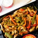 easy chicken fajita recipe with fajita seasoning