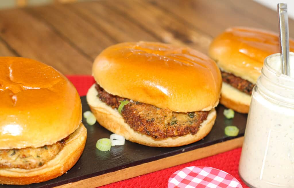 Pork Schnitzel Sandwiches with Aioli